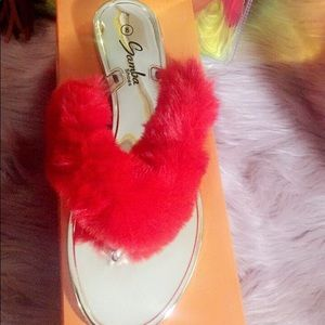 samba Shoes - Furry sexy sandals 👡